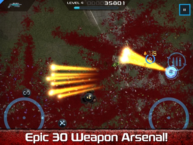 ‎Crimsonland HD Screenshot