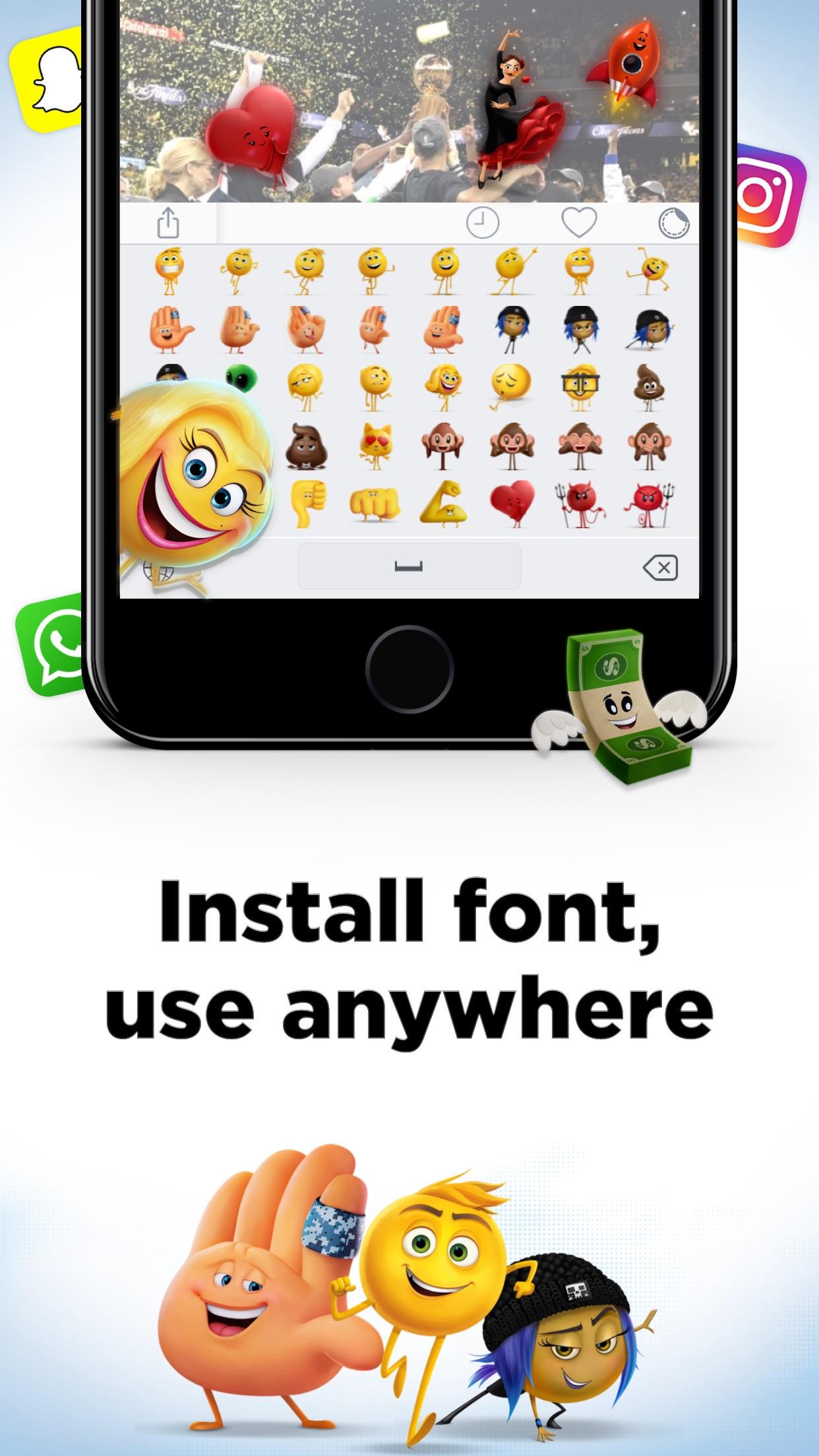 The Emoji Movie Maker Screenshot