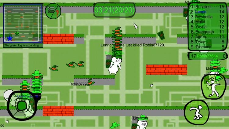 Green men's Battle Royale screenshot-3