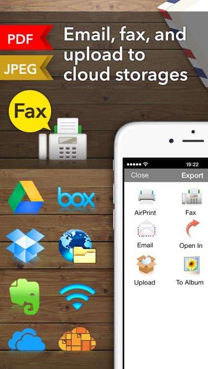 Scanner App + Scan PDF Doc Fax screenshot-4