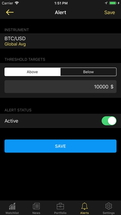 ... Screenshot #10 for Crypto Plus - Bitcoin Ticker ...