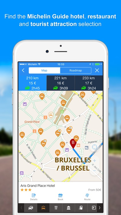 ViaMichelin GPS, Route Planner screenshot-3