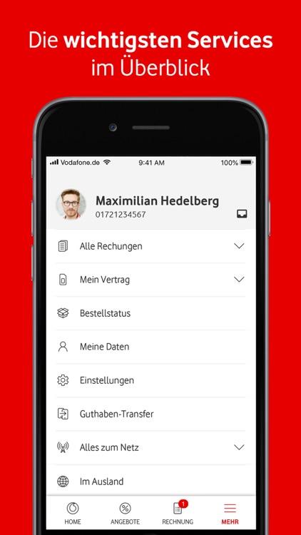 MeinVodafone screenshot-3