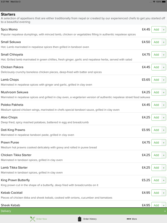 Nepal Restaurant Hanwell | App Price Drops