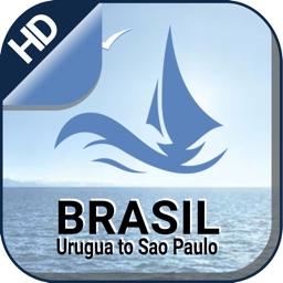Urugua - Sao Paulo GPS Charts