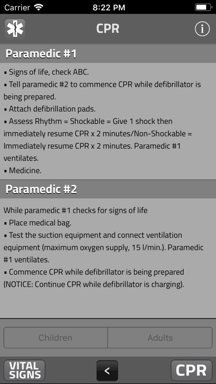 PARAMEDIC: SIGNS AND SYMPTOMS screenshot-6