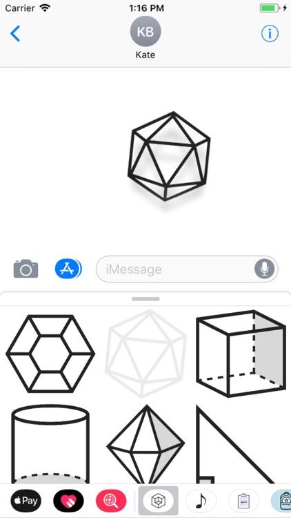 Geometric Stickers screenshot-3