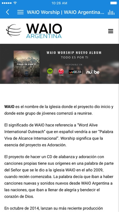 WAIO Argentina screenshot 3