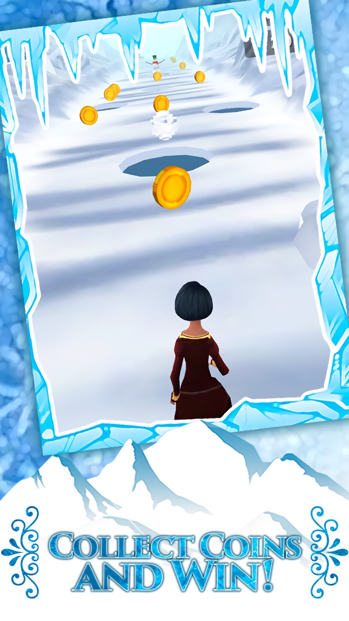 3D Girl Princess Endless Run Screenshot