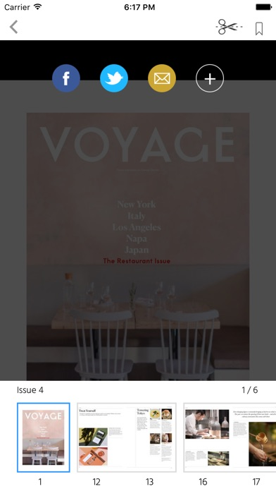 Voyage (Magazine) screenshot 2