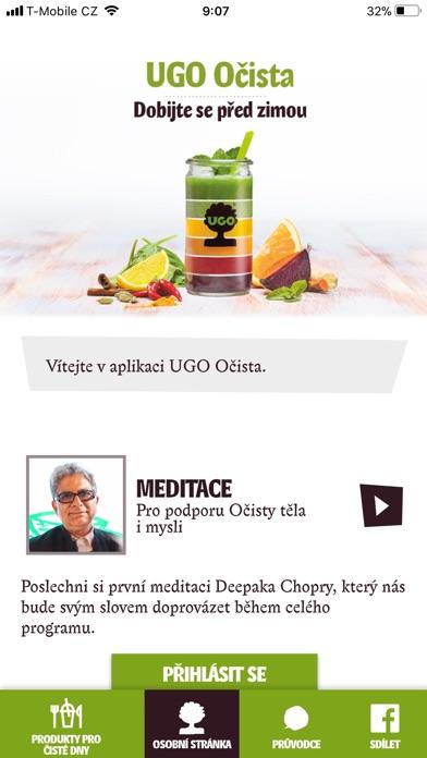 Screenshot for UGO Očista Česko in Czech Republic App Store