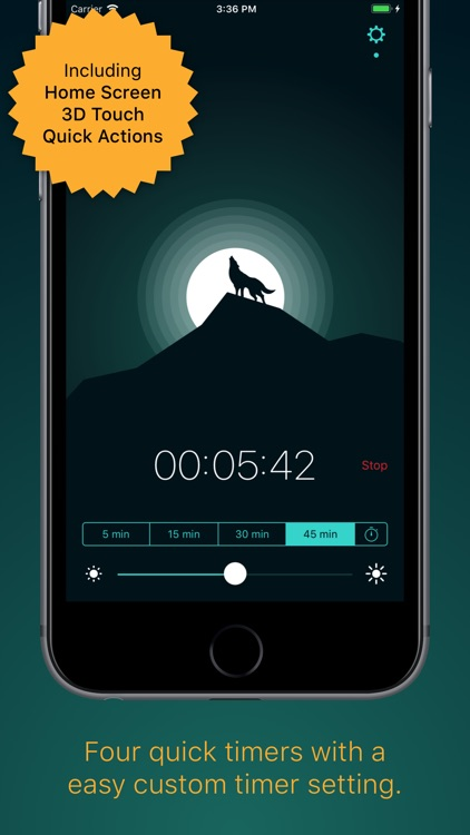 Snoosic - Music Sleep Timer screenshot-3