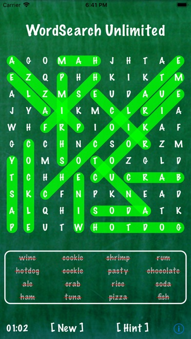 Word Search Unlimited screenshot1