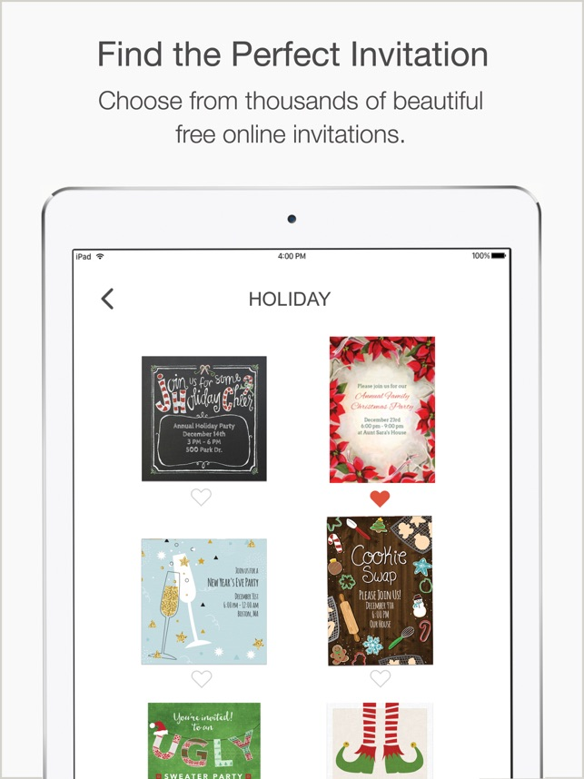 Punchbowl Online Invitations En App Store