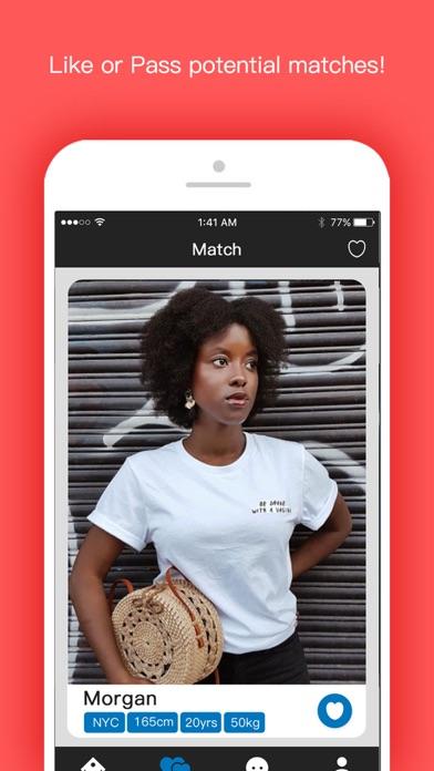 Black Planet: Date night chat Screenshot