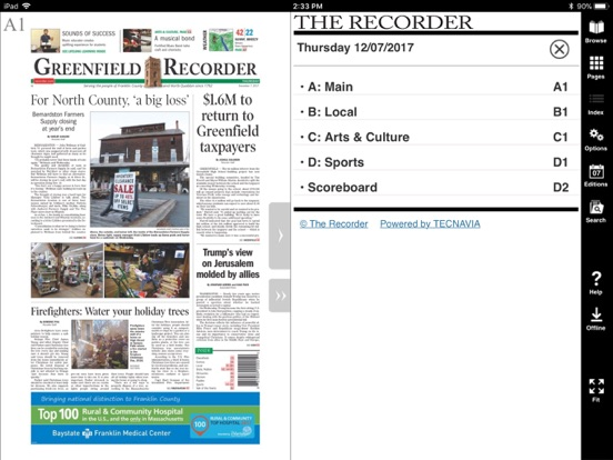 The Recorder E-Edition | App Price Drops