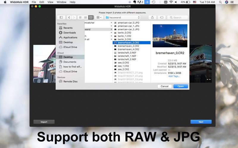 Widsmob HDR-HDR Photo Maker Screenshots