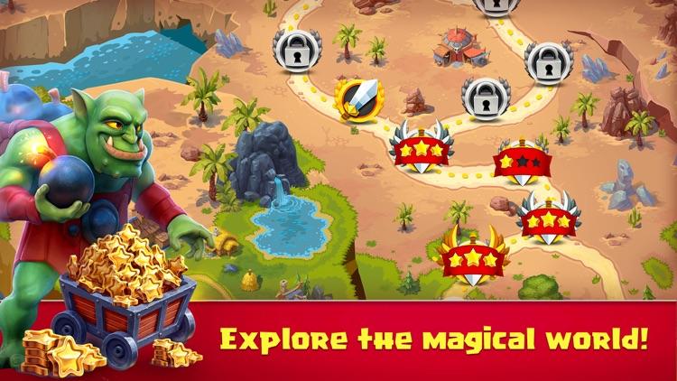 Toy Defense Fantasy Creeps TD screenshot-3