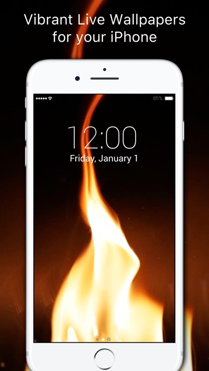 Live Wallpapers : New live wallpapers for iPhone