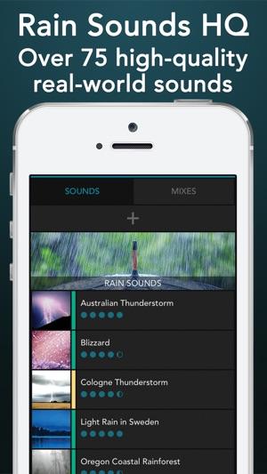 Rain Sounds HQ: sleep aid on the App Store