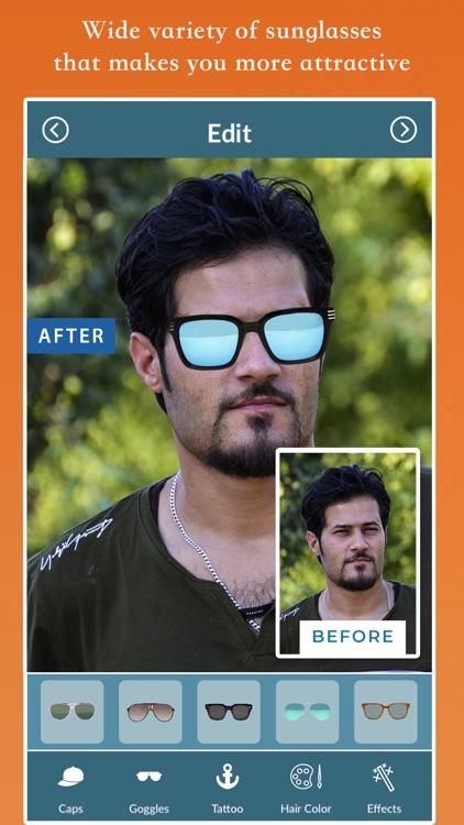 Smart Men Photo Editor screenshot-3