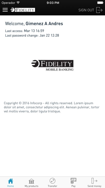 Fidelity Digibanking screenshot-2