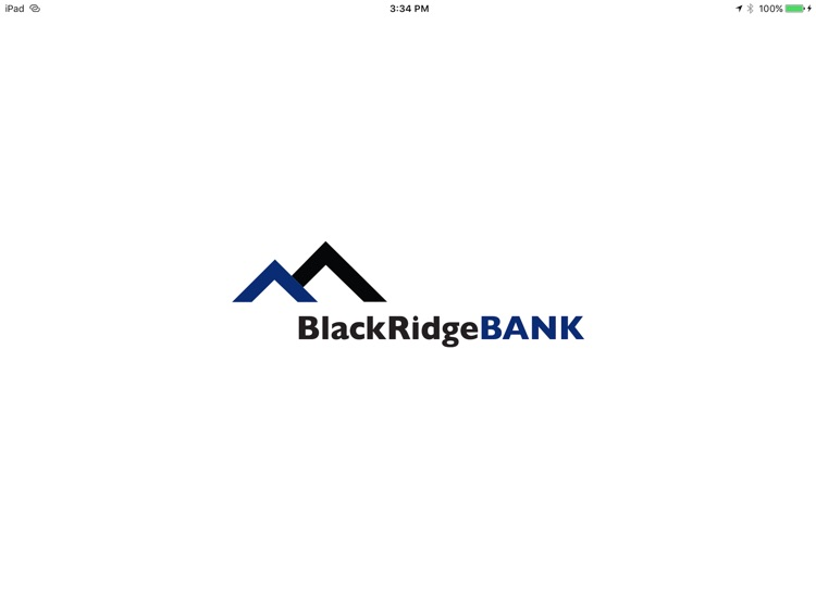BlackRidgeBANK App for iPad screenshot-0