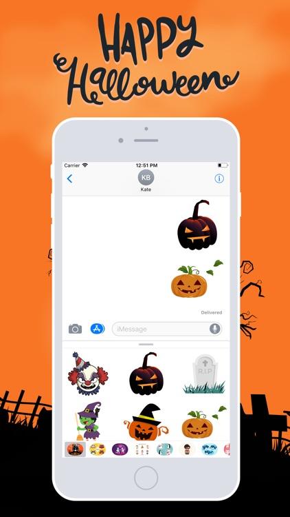Halloween Emojis 2018 screenshot-3