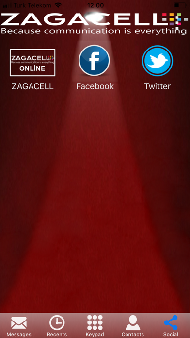 Zagacell screenshot two