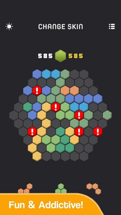 Funny Hexa Box Color screenshot 2