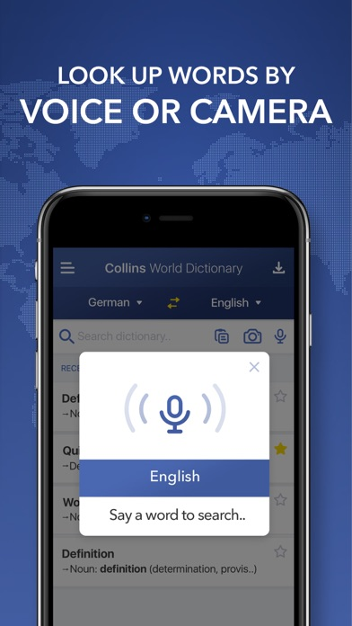 Collins World Dictionary screenshot three