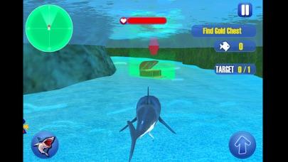 鮫 復讐 攻撃 シム 3Dのスクリーンショット1