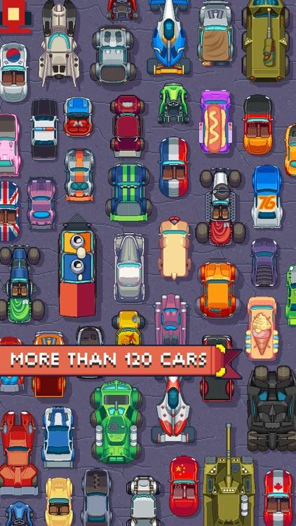 Pixel Drifters: Nitro screenshot-0