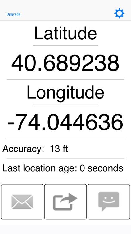 My GPS Coordinates
