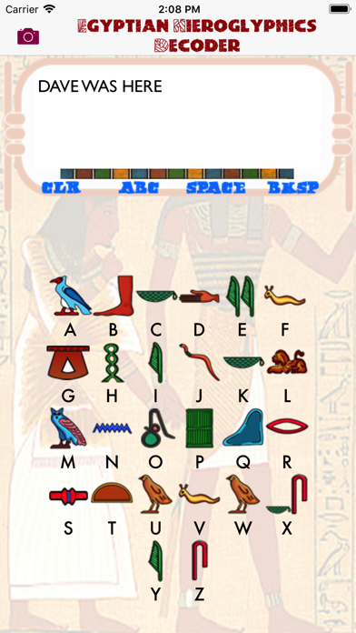 Egyptian Hieroglyphics Decoderのおすすめ画像2