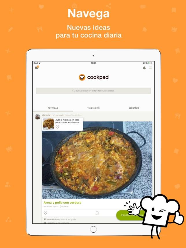 Cookpad - Recetas Caseras en App Store