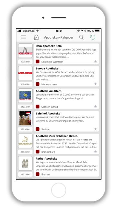 Apotheken-Ratgeber screenshot one
