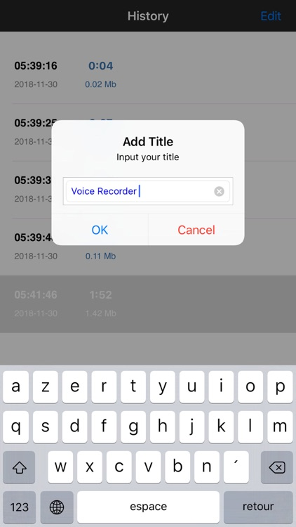 MP3 Voice Recorder screenshot-4