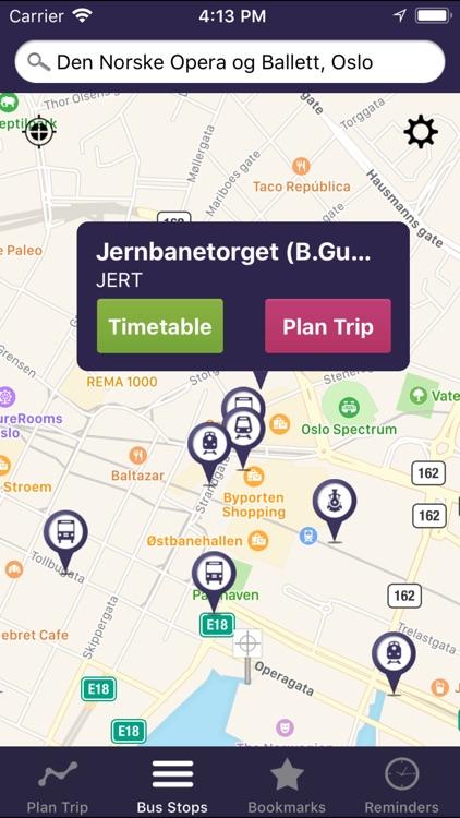 OnTimely-Oslo, RuterReise screenshot-4