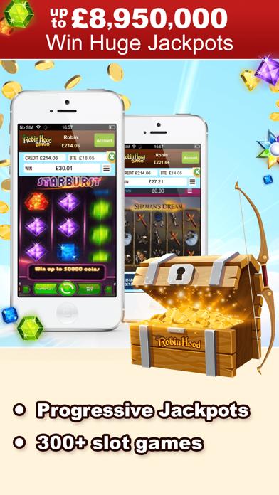 Robin Hood Bingo - Top Games screenshot three