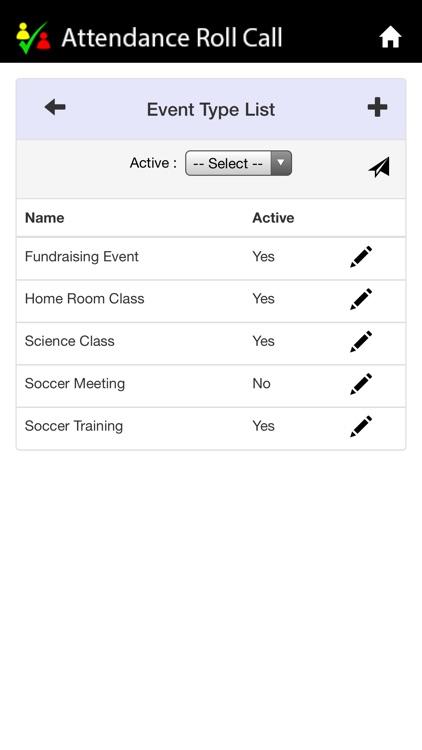 Attendance Roll Call screenshot-3