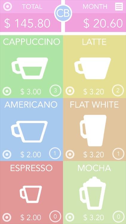 CB: Coffee Budget screenshot-4