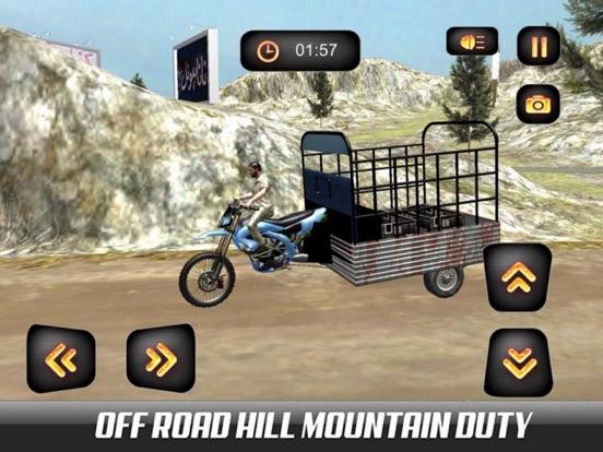 Hill Chingchi Rickshaw 3D screenshot 4