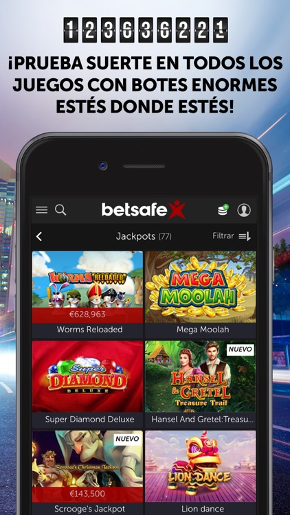 Betsafe apuestas y casino screenshot-1