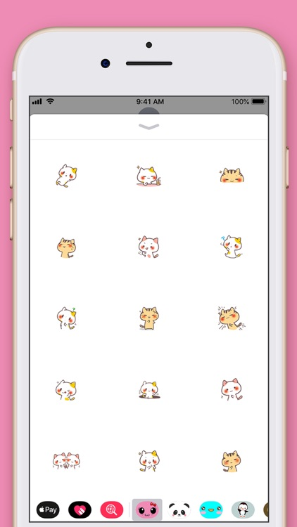 Cute Cat Kawaii Stickers screenshot-4