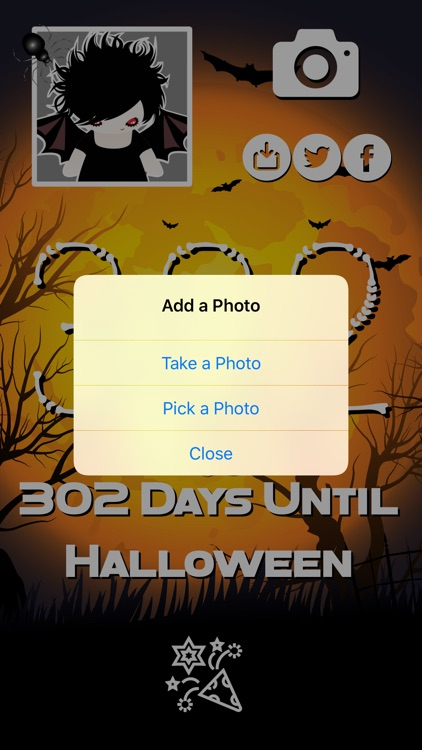 Countdown to Halloween screenshot-3