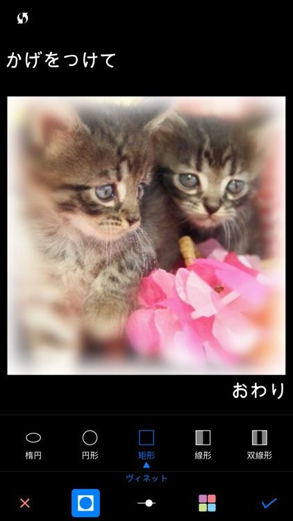 ぼかし++簡単ぼかし&モザイク写真加工アプリ screenshot-3