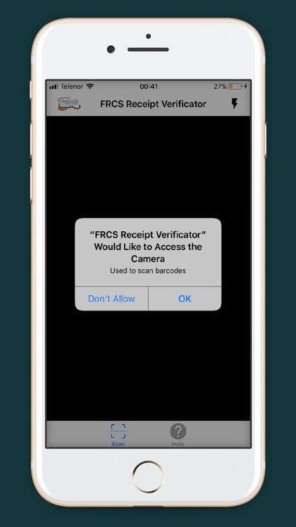 FRCS Receipt Verificator screenshot-3