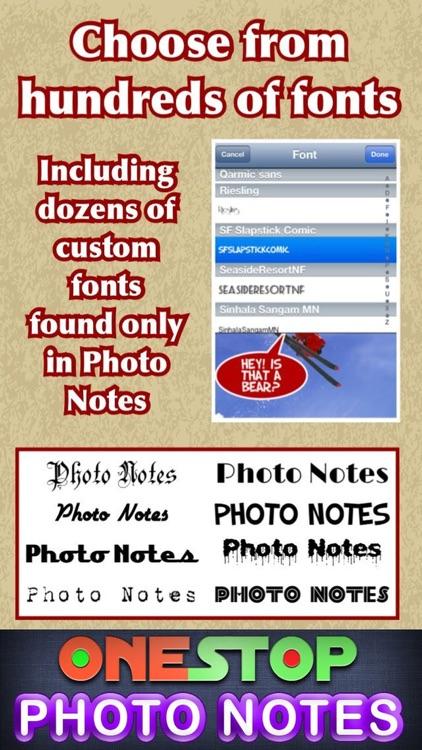 Photo Notes HD Pro screenshot-4