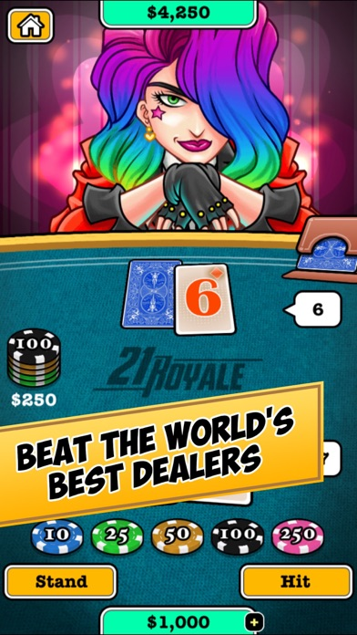 Screenshot for 21 Royale in United States App Store